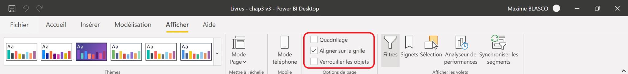 Power BI - Aligner