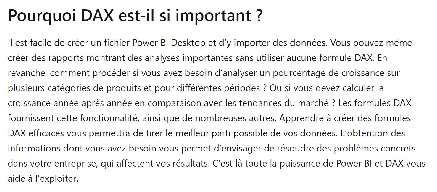 Power BI - DAX